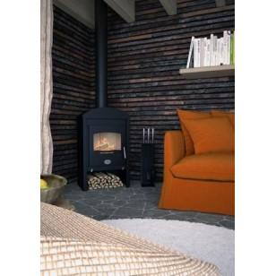 Wood Stove Stavanger Black