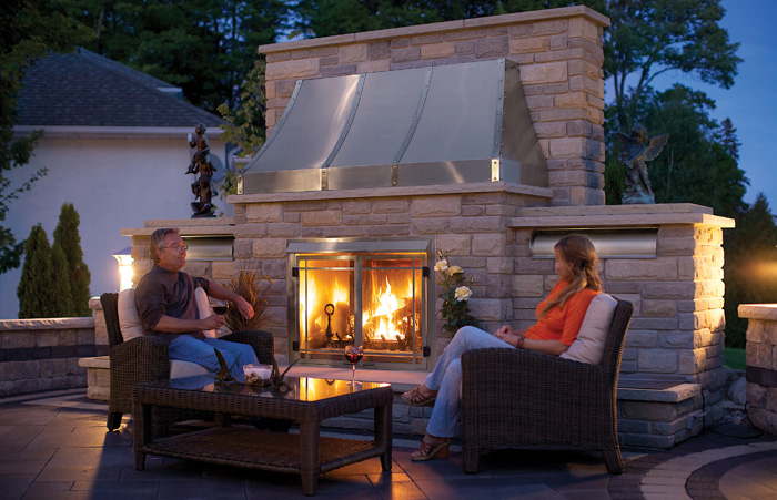 Vs for Outdoor fireplace portland oregon
